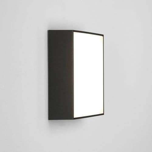 Astro 1391008 Kea Square 240 LED Wall And Ceiling Light Black